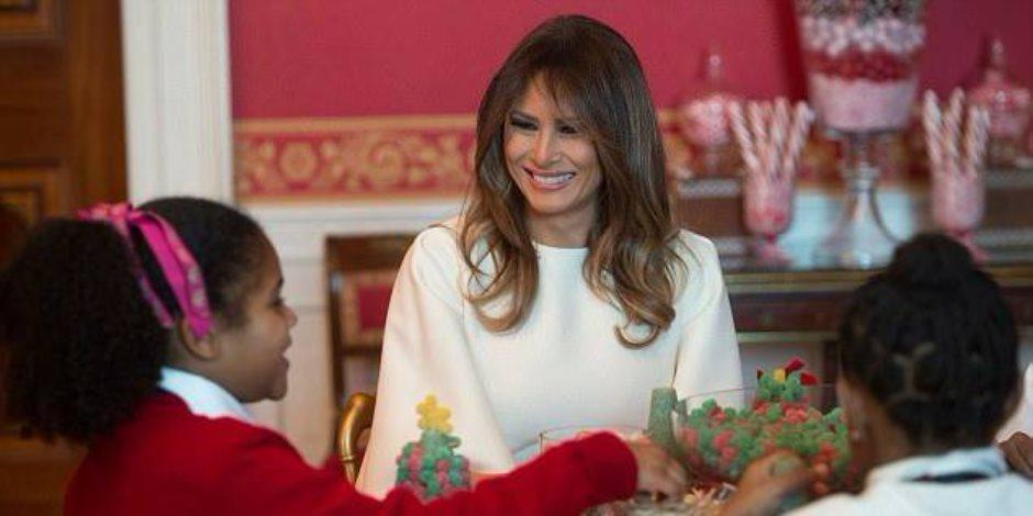 شاهد.. حلوى ميلانيا ترامب فى البيت الأبيض (صور )