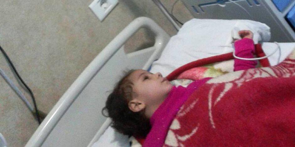 والد طفلة بالمنوفية يناشد وزير الصحة بتوفير غرفة عناية لهذا السبب