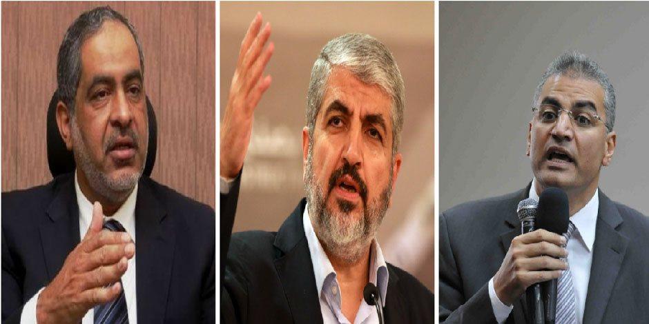 """تسجيلات لعصام سلطان وماضى مع مشعل ضمن أحراز """"التخابر مع حماس"""""""