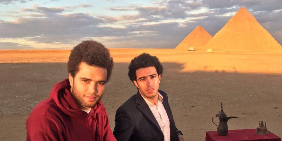محمد صلاح وعمر جابر يشاركان في حملة دعائية للسياحة المصرية