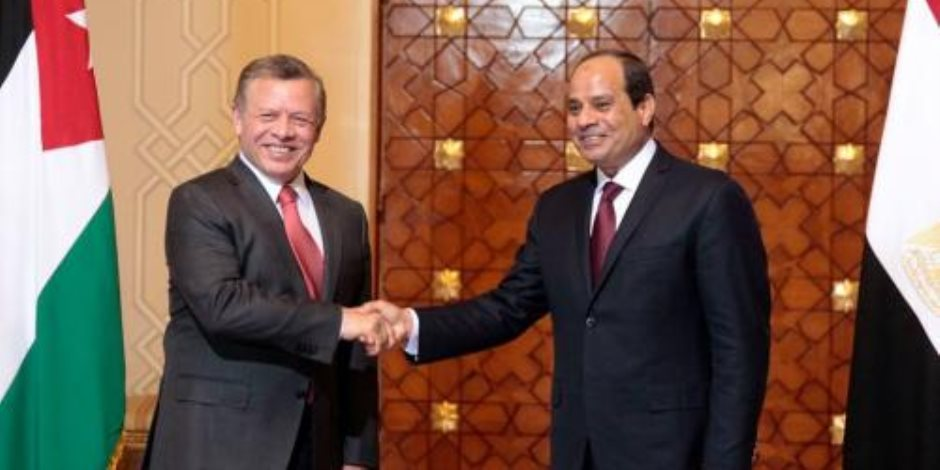 العاهل الأردني يهنئ الرئيس السيسي بفوزه في الانتخابات الرئاسية