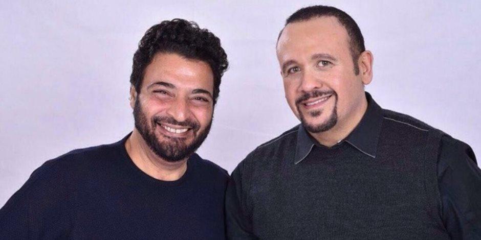 هشام عباس وحميد الشاعرى في  sn l بالعربى على on e