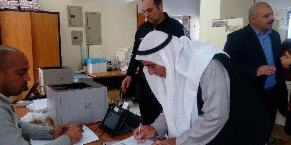 2328 توكيلا لترشيح السيسي للانتخابات الرئاسية في جنوب سيناء (صور)
