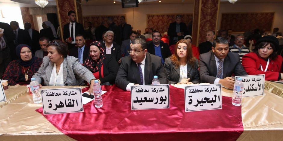 """""""سيناء بين التنمية والإرهاب"""".. مؤتمر عمالي برعاية """"حب الوطن"""" لدعم السيسي بانتخابات الرئاسة"""