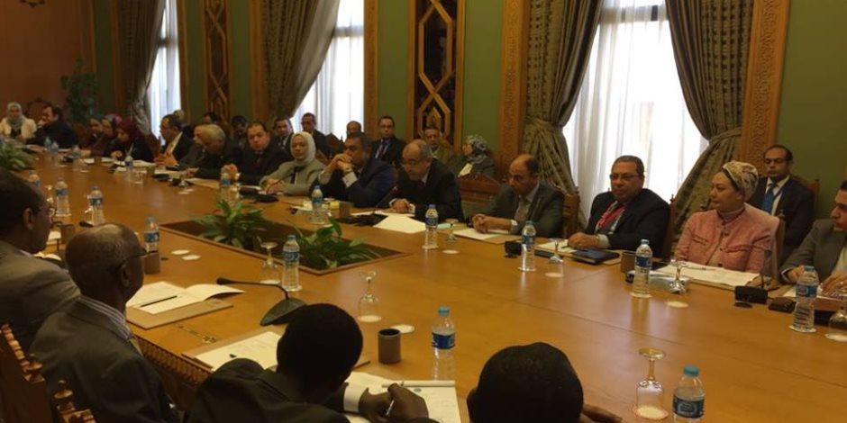 اللجنة المشتركة بين مصر وإثيوبيا تبدأ أعمالها على مستوى كبار المسئولين (صور)