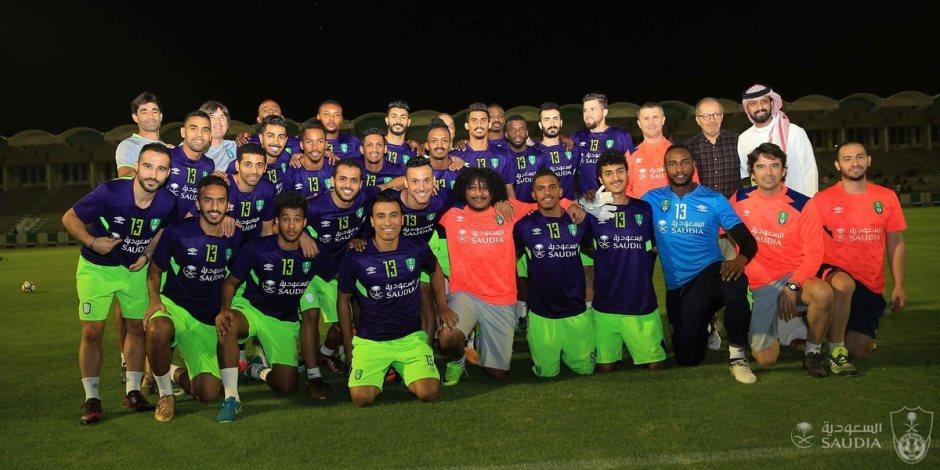 فى وداع عبد الشافي.. لاعبو الأهلي يرتدون رقم 13 (صور)