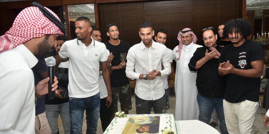 مؤمن زكريا يستعد للظهور الأول مع أهلي جدة أمام العروبة فى الدوري السعودي