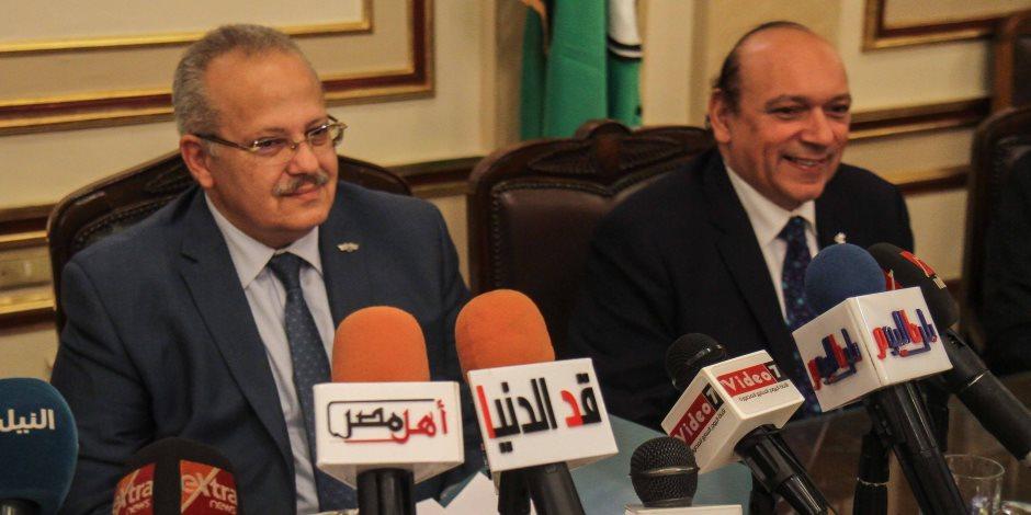 الخشت: تكلفة تطوير مستشفيات جامعة القاهرة 750 مليون ريال سعودي (صور)
