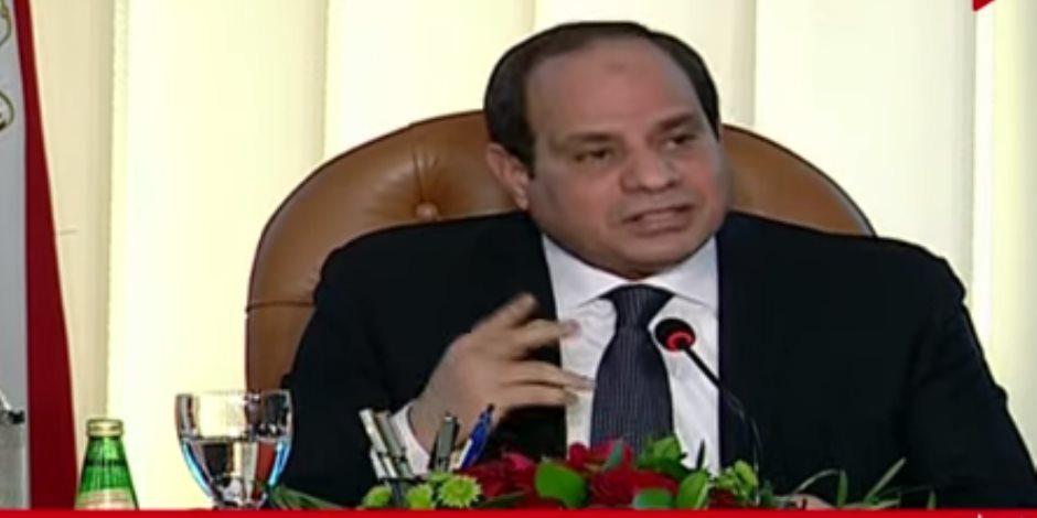 الرئيس السيسي: مصر كانت تحتاج 15 عاما لتستقر بعد 2011