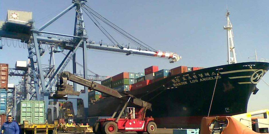 وصول 423 ألف طن سلع استراتيجية إلى ميناء الأسكندرية