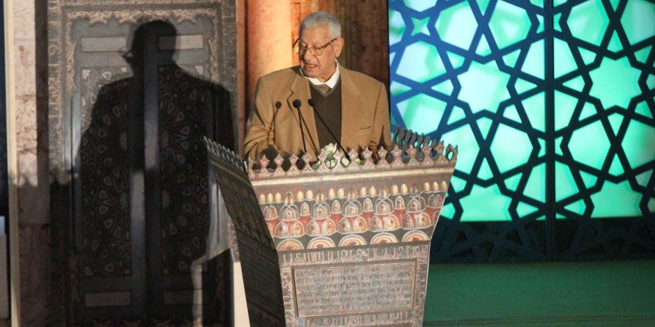 السفيرة مشيرة خطاب: مؤتمر الأزهر يمثل فرصة تاريخية لنصرة القدس وفلسطين (صور)