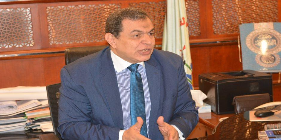 وزير القوى العاملة يتابع اليوم الثاني لقبول أوراق المرشحين للانتخابات العمالية