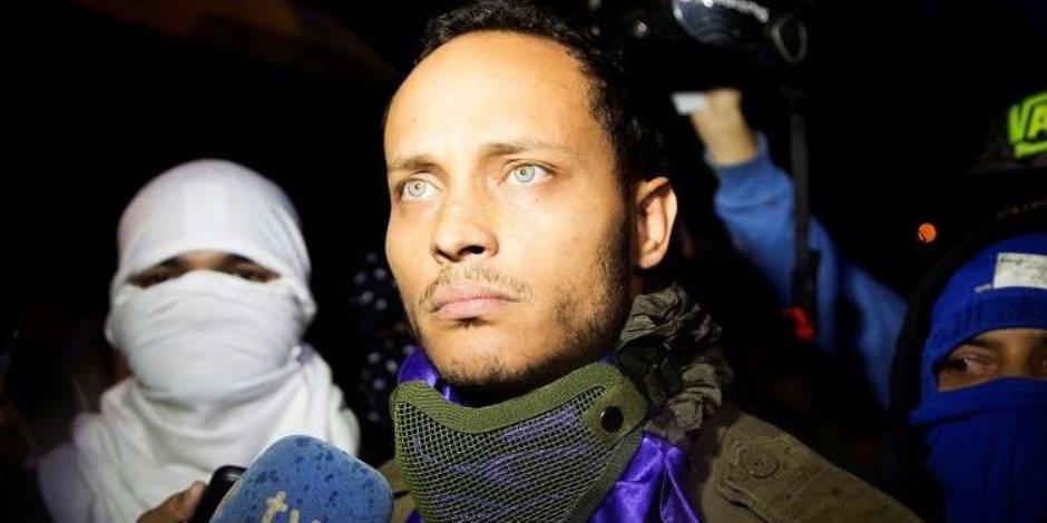 أوسكار بيريز.. شرطي متمرد أصبح عدوًا لرئيس فنزويلا بعد وفاته