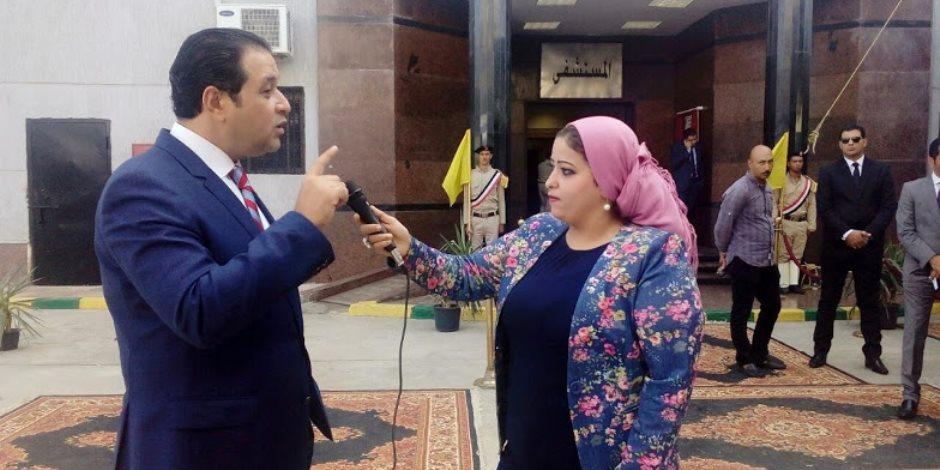 """علاء عابد من داخل سجن القناطر يكذب مزاعم """"هيومان رايتس ووتش"""": لا شكاوى (صور)"""