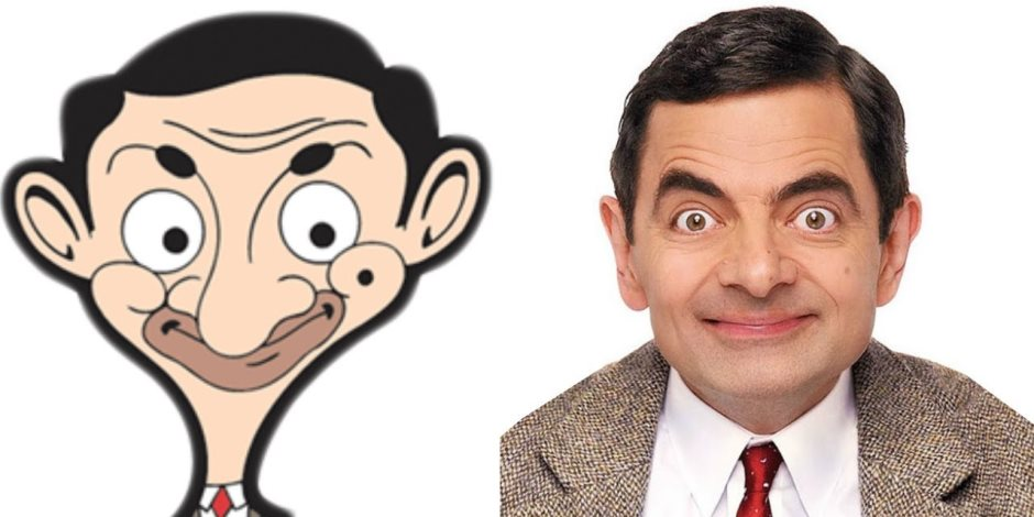 ممثلى كرتون مستر بين Mr Bean (صور)