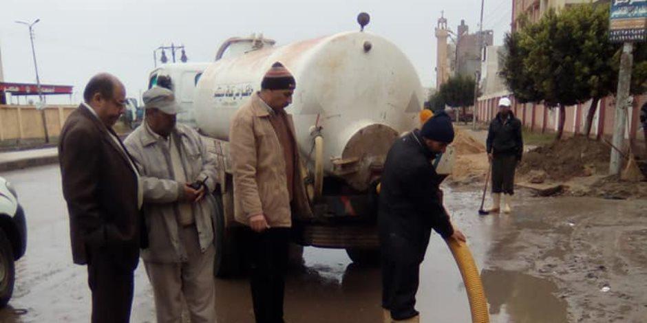 توقف حركة الصيد بكفر الشيخ لسوء الأحوال الجوية والأمطار الغزيرة