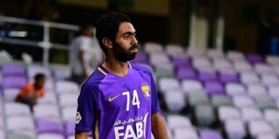 حسين الشحات فى مهمة صعبة مع العين أمام الدحيل بأبطال آسيا