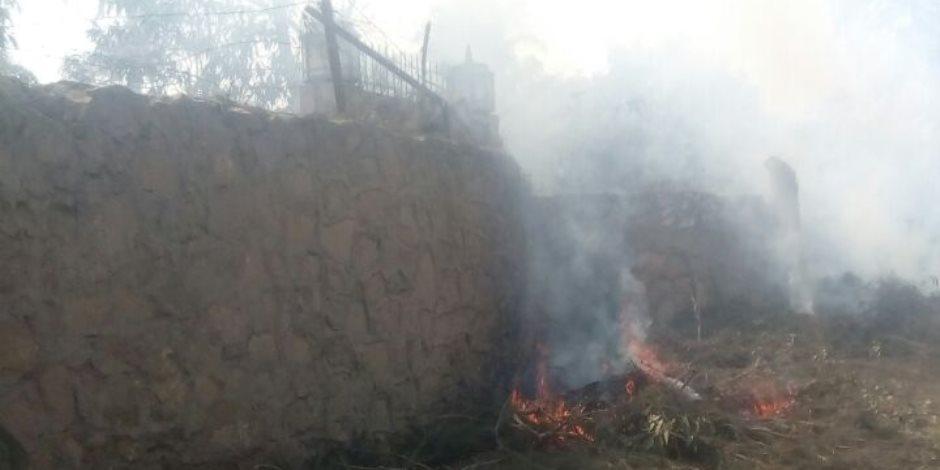 نشوب حريق بمخزن مواد غذائية بالشرقية والحماية المدنية تسيطر عليه