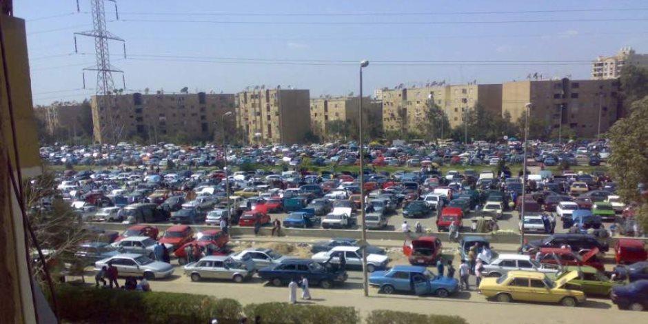 القصة الكاملة لنقل سوق السيارات من مدينة نصر إلى القطامية بطريق العين السخنة