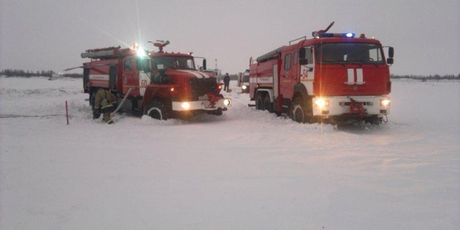8 قتلى في تحطم طائرة روسية بالشيشان