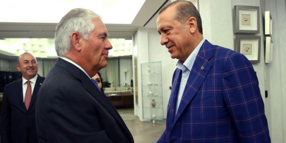 """""""تضارب المصالح"""".. محادثة صعبة تنتظر تيلرسون وأردوغان بسبب أكراد سوريا"""