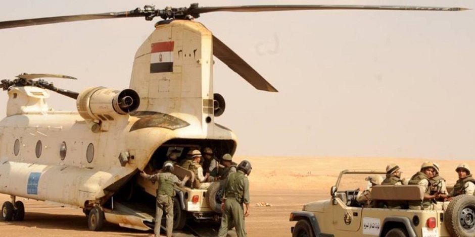 أخبار سيناء اليوم الأربعاء: القوات المسلحة تواصل العملية الشاملة سيناء 2018
