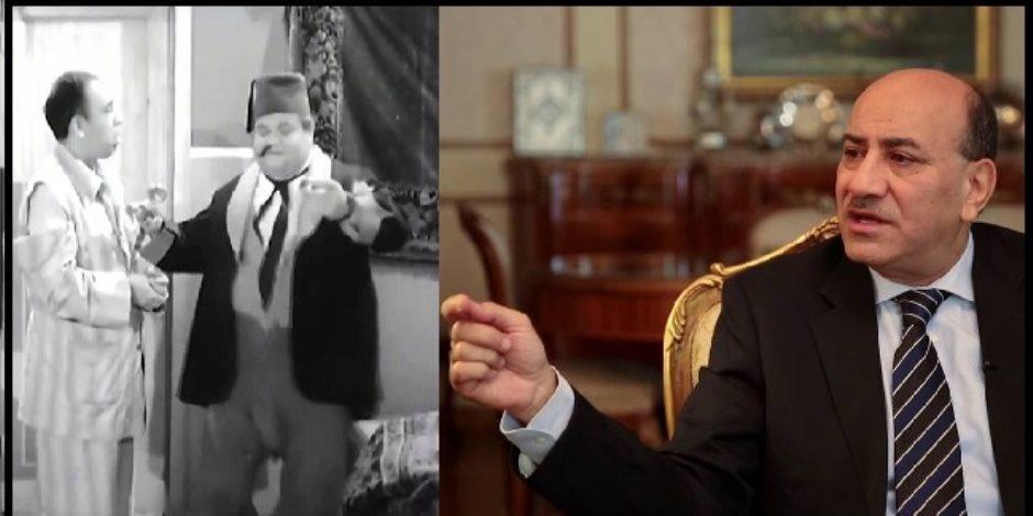 """دفاع هشام جنينة يستعين بإسماعيل ياسين لتبرئته: """"لا مؤاخذه عنده شعرة"""""""