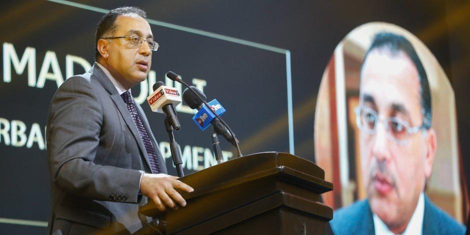 مصطفى مدبولي في احتفالية BT100: الحكومة الحالية واجهت العديد من التحديات الصعبة (صور)