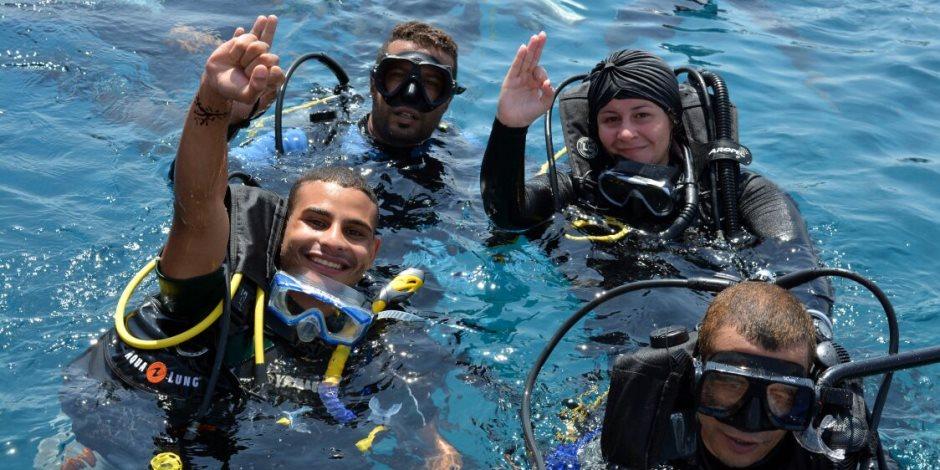عروس البحر .. قصة أول فتاة مصرية قائد غواصات بالشرق الأوسط (صور)