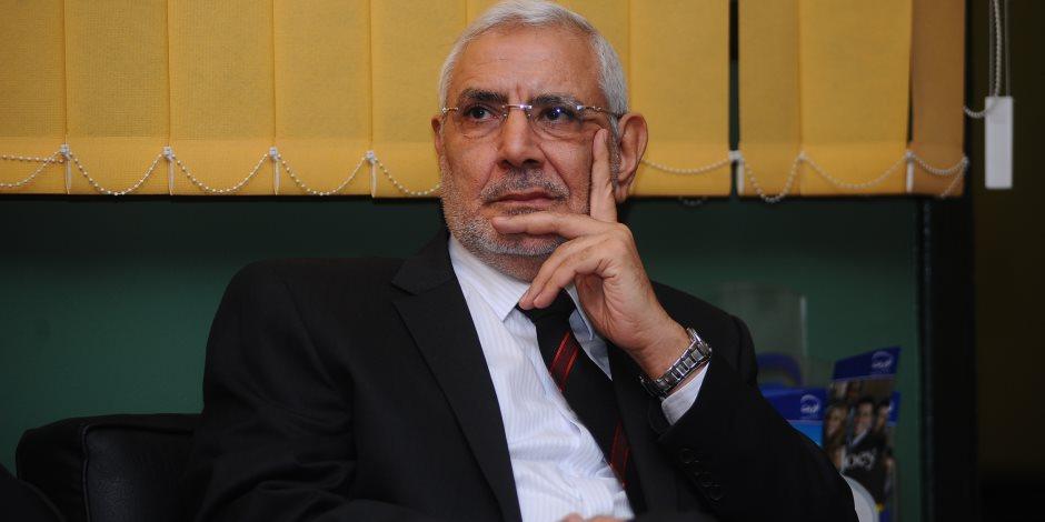 تجديد حبس عبد المنعم أبو الفتوح 15 يوما احتياطيا بتهمة «التحريض ضد الدولة»