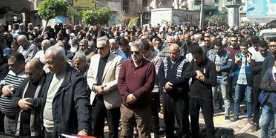 """كفر الزيات تودع شهيد العملية سيناء 2018 الملازم أول محمد لاشين بالزغاريد """"صور"""""""