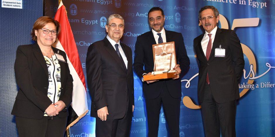 """وزارة الكهرباء والأمم المتحدة وغرفة التجارة الأمريكية يكرمون """"فودافون مصر"""""""