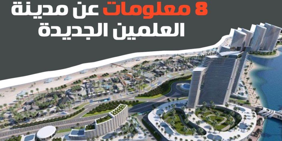 غدا.. السيسي يدشن مدينة العلمين الجديدة ويفتتح مدينة شرق بورسعيد (فيديوجراف)