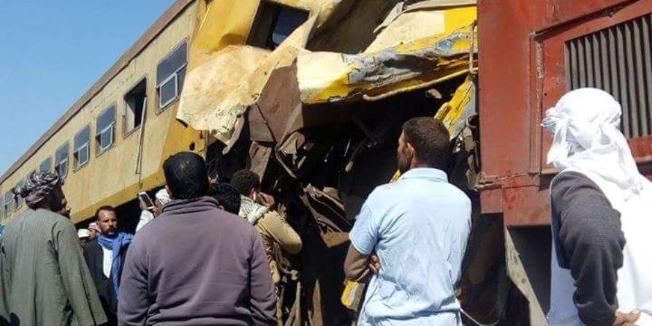 «توك توك» يتسبب في اصطدام قطار «القاهرة- الأقصر» وتأخيره 45 دقيقة
