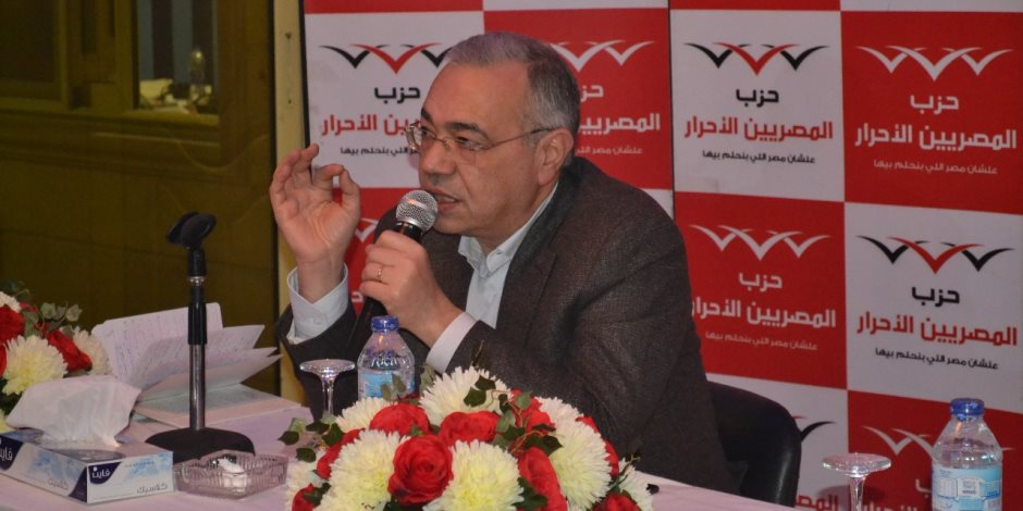 """عصام خليل لنواب المصريين الأحرار: من يحضر إفطار """"مستقبل وطن"""" يعتبر مستقيلا"""