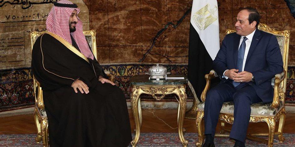 أهم أخبار مصر اليوم الإثنين 5-3-2018: الرئيس السيسي وولي العهد السعودي يتفقدان مشروعات محور قناة السويس