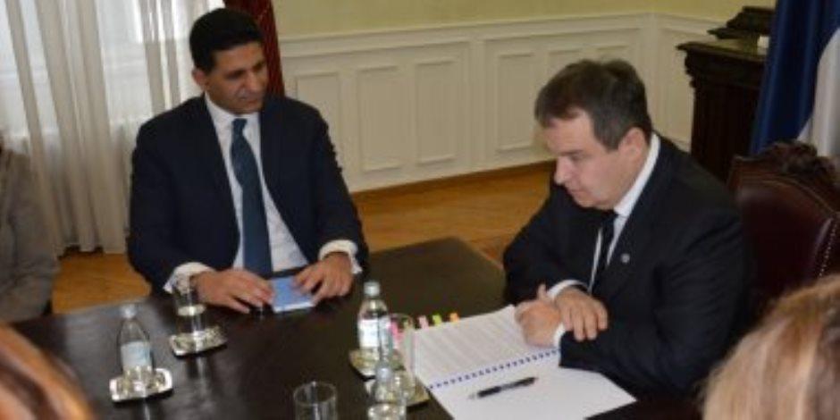 وزير خارجية صربيا: ندعم مصر في حربها ضد الإرهاب بسيناء