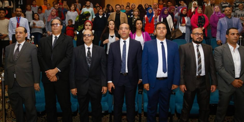 برئاسة خالد صلاح.. وفد إعلام المصريين يزور مستشفى 57357 (صور)