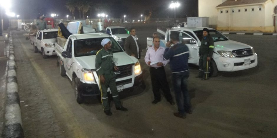 حملة مكبرة فى مدينة الأقصر وتحرير 147 مخالفة وإزالة إشغالات (صور)