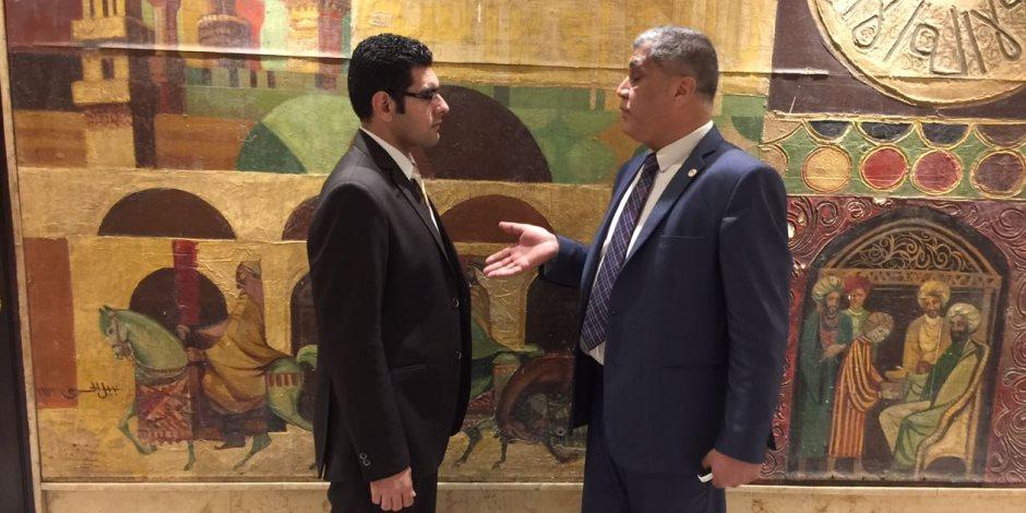 النائب عصام الفقي: ناس باعت لنا الهوا لكن ربنا رزقنا بالرئيس السيسي بيوعد ويوفي (حوار)