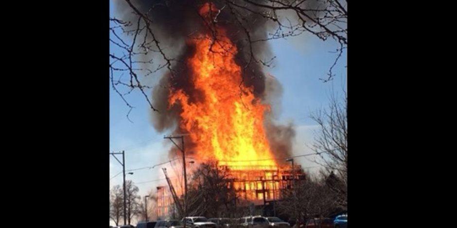 «حريق قسم العياط».. لا شبهه جنائية.. وعامل البوفية للنيابة: « أسطوانة الغاز كانت مسربة»