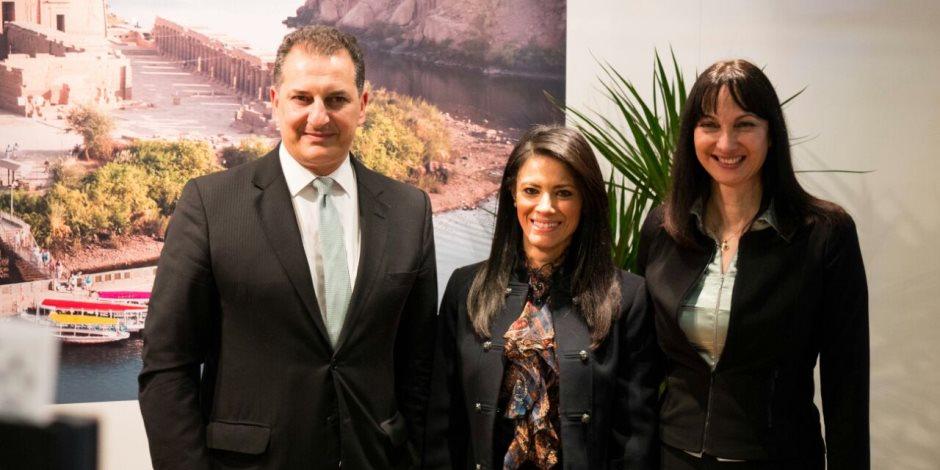 وزيرة السياحة تلتقي ممثلي البنك الدولي