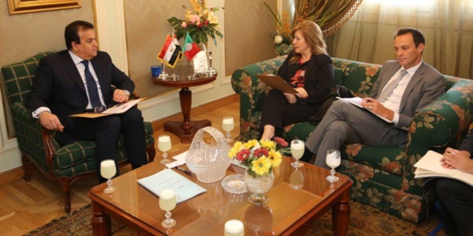 تعاون بحثي ومنح دراسية خلال لقاء وزير التعليم العالي بالسفير البرتغالي بالقاهرة