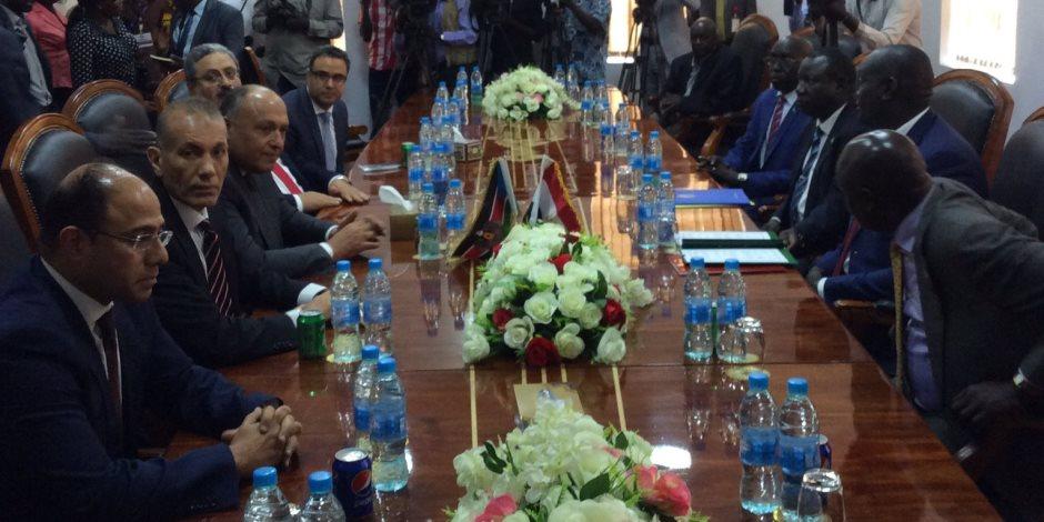 مذكرة تفاهم بين مصر وجنوب السودان