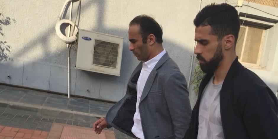 أول صور لعبد الله السعيد بعد تجديد تعاقده مع النادي الأهلي