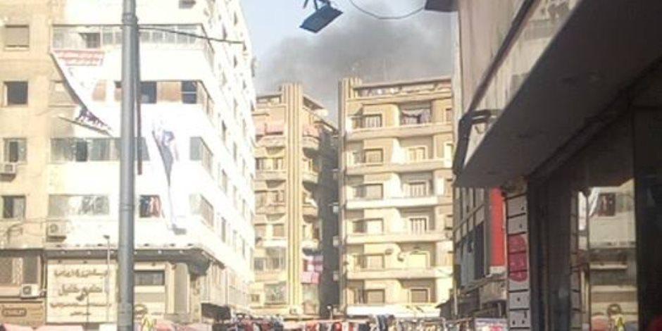 السيطرة على حريق داخل مستشفى الصدر بالعباسية دون إصابات