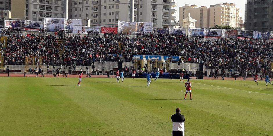 """""""معاك من أجل مصر"""": الأهلى يلاقي منتخب الإسكندرية في احتفالية دعم السيسى  ( صور )"""