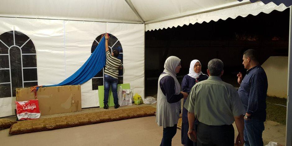 استعدادات لإقامة أكبر تجمع عائلي بالسفارة المصرية بمسقط الجمعة (صور)