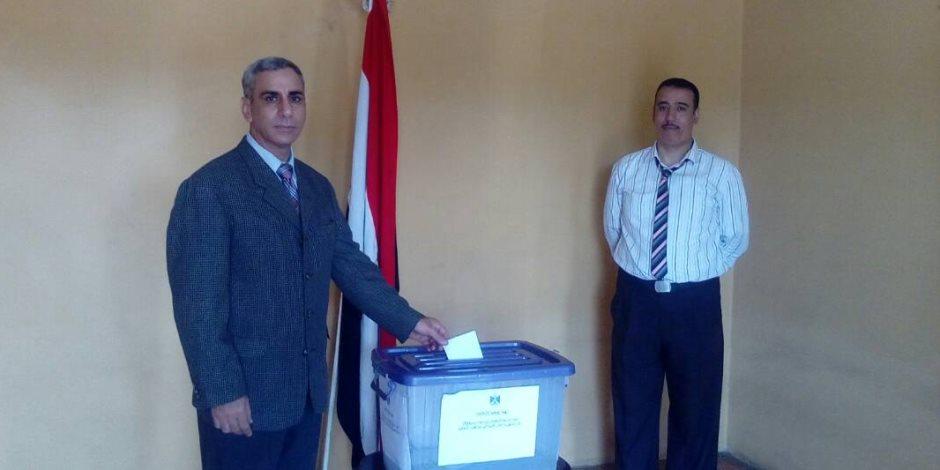 سفير مصر في سيراليون يشارك في الانتخابات الرئاسية 2018 (صور)