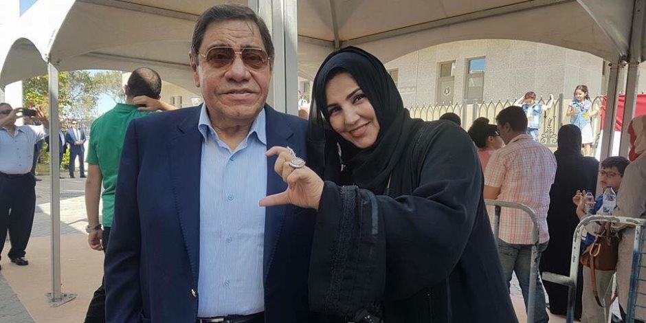 المستشار عبد المجيد محمود يدلي بصوته في الانتخابات الرئاسية بأبوظبي (فيديو)